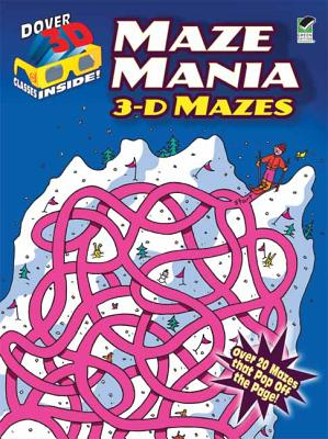 3-d Mazes Maze Mania By Woodworth, Viki